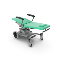 Multifunctional Transport Chair Unfolded PNG & PSD Images
