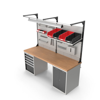 Multipurpose Workbench PNG & PSD Images