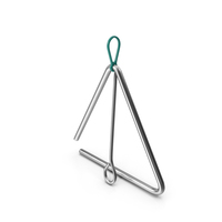 Musical Triangle Steel PNG & PSD Images