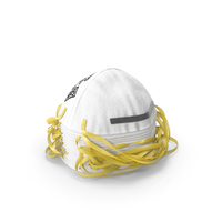 N95 3M 8210 Respirator Mask Stack PNG & PSD Images