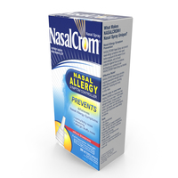 NasalCrom Allergy Symptom Controller Box PNG & PSD Images