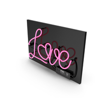 Neon Sign Love PNG & PSD Images