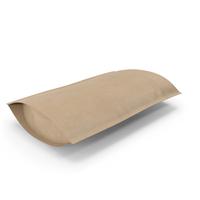 Zipper Kraft Paper Bag 500 g Open PNG & PSD Images