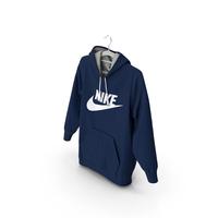 Nike Blue Hoodie PNG & PSD Images