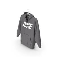 Nike Grey Hoodie PNG & PSD Images