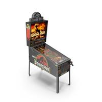 Pinball Machine : Jurassic Park PNG & PSD Images