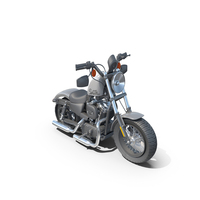 Harley Davidson Sportster Forty-Eight Toon PNG & PSD Images
