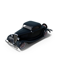 Hot Rod 1934 Coupe PNG & PSD Images