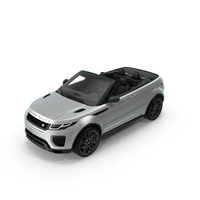 Land Rover Range Rover Evoque Convertible PNG & PSD Images
