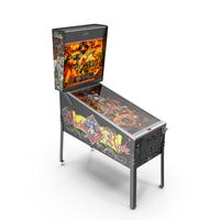 Pinball Machine : Black Rose PNG & PSD Images