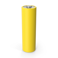 Battery Yellow PNG & PSD Images