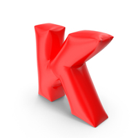 Balloon Letter K PNG & PSD Images