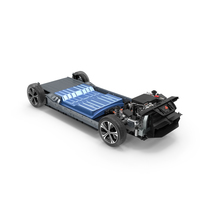 Nissan Leaf Engine and Chassis PNG & PSD Images