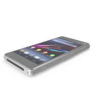 Sony Xperia Z1 Compact PNG & PSD Images