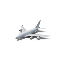 Airbus A380 Transaero PNG & PSD Images