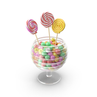 Candy vase PNG & PSD Images