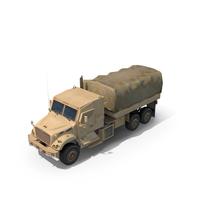 Military Truck Navistar 7000 MV 6X6 PNG & PSD Images