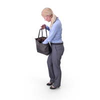 Shopping Woman Posed PNG & PSD Images