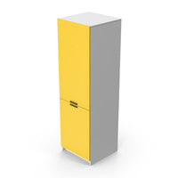 Kitchen Cabinet Yellow PNG & PSD Images
