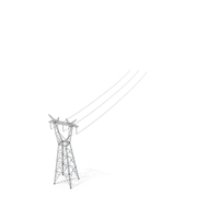 Power Lines Pylons PNG & PSD Images