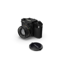 Canon F1 reflex camera PNG & PSD Images