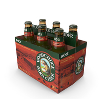 Six Pack of Woodchuck 802 PNG & PSD Images