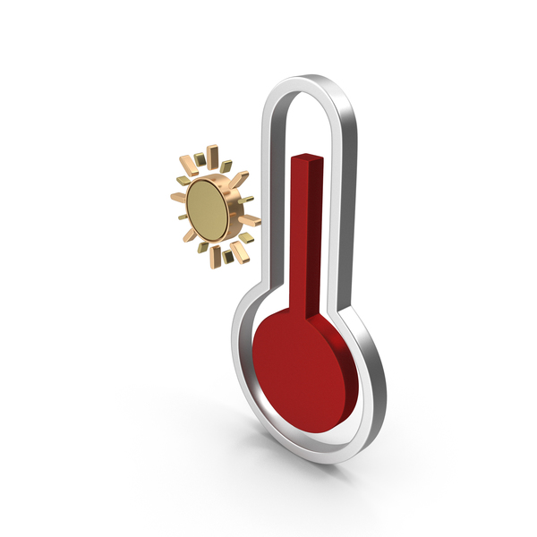 Weather Icon High Temperature PNG & PSD Images