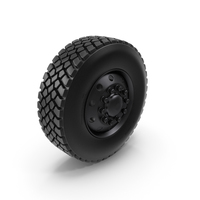 Off Road Rim and Tire PNG & PSD Images