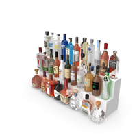 Liquor Bottles PNG & PSD Images