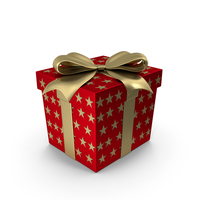 Gift Box Cube Red PNG & PSD Images