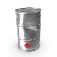 Old Ethanol Metal Barrel PNG & PSD Images