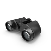 Old Metal Military Binoculars PNG & PSD Images