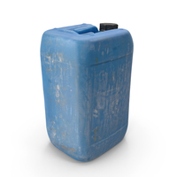 Plastic Dirty JerryCan PNG & PSD Images