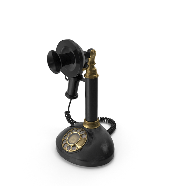 Old Upright Telephone PNG & PSD Images