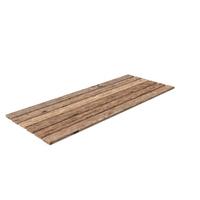 Old Wood Planks Set PNG & PSD Images