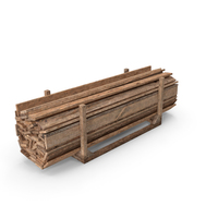 Old Wooded Planks Storage PNG & PSD Images