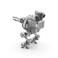 Robot Rocket Launcher PNG & PSD Images