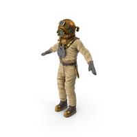 Old Diver Suit PNG & PSD Images