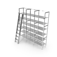Eichholtz Cabinet Delano Incl. Stairs PNG & PSD Images