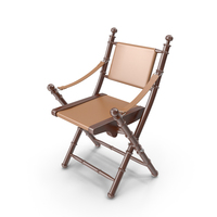 Eichholtz Chair Folding Bamboo PNG & PSD Images