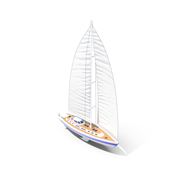 Sailing Yacht PNG & PSD Images