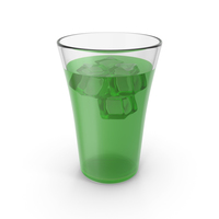 Glass With Juice & Ice PNG & PSD Images