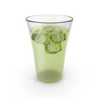 Glass Lemonade With Ice PNG & PSD Images