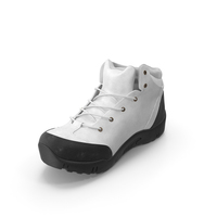 Men's Boots White PNG & PSD Images
