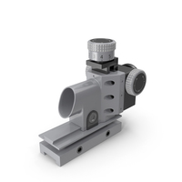 Optical Sight Rifle Scope PNG & PSD Images