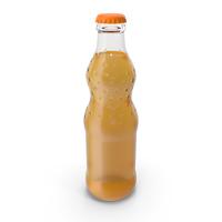 Orange Soda Glass Bottle PNG & PSD Images