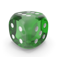 Die Transparent Green White PNG & PSD Images