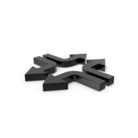 Arrows Black PNG & PSD Images