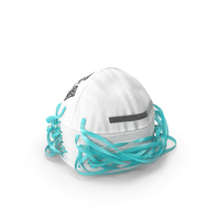 Particulate Respirator N95 Class Stack PNG & PSD Images