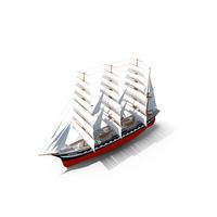 Kruzenshtern Sail Ship PNG & PSD Images